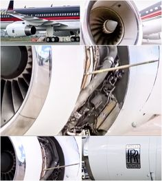 Pilot John Dunkin flies Donald Trump's Boeing 757 . . . • The plane has 2 Rolls Royce engines that are superbly quiet allowing the plane to be landed in noise-restricted areas. •  Mighty Planes, Season 2 Episode 3:  TRUMP 757 via Smithsonian Channel