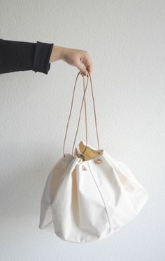 Mato Creative Canvas Bag - ANAISE