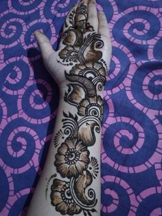 Top 25 Arabic Mehndi Design Images and Pictures