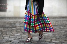 A Lesson in Styling Graphic Tees from Paris Street Style - -Wmag