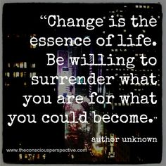 #Change can not only be good but better!