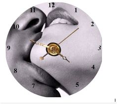 Kiss CD Clock  Can Personalize Send Pic Great Gift
