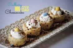 The Farm Girl Recipes: Cadbury Mini Eggs Cheesecake