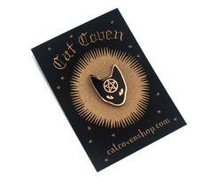 Cat Coven Pin