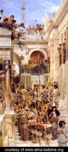 Spring - Sir Lawrence Alma-Tadema - www.alma-tadema.org