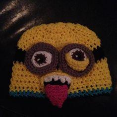 Minon Rocker crochet hat by SEWcialButterflies on Etsy