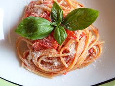 #spaghetti alla #cilentana