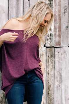 408bd2ee659 Coraline Sweater in Plum by Bella Dawn Boutique