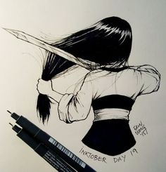 The most iconic piece in Mulan Disney Drawings, Cartoon Drawings, Art Drawings, Abstract Pencil Drawings, Arte Disney, Disney Fan Art, Punk Disney, Art Inspo, Art Sketches