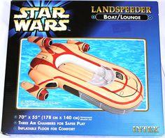 Inflatable Star Wars Landspeeder (Boat/Lounge)