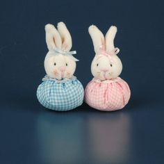 Recuerdos para baby shower conejitos de tela