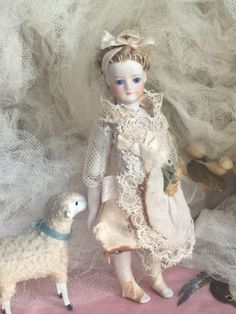 Fernand Sustrac Mignonette doll from antiquedolls6395 on Ruby Lane