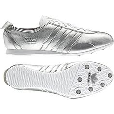 Silver Adidas adiSprint.