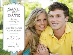 Save the dates - Remember to ask USPS to hand stamp the post card or else the picture will be ruined - Ask Diane