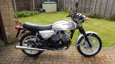 Photo: One Moto Morini 3 1/2 Strada all washed, polished & ACF-50'd & ready for its first official public bike show tomorrow, 17th April in Salisbury & hopefully the judges are in an Italian favorable mood!
