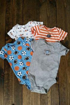 Carter's onesies. Lot of 4. Size 12 months. $4. 12 Months, Onesies, Size 12, Garage, Kids, Baby, Clothes, Fashion, Carport Garage