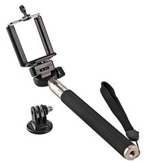 Bastao de Selfie Stick Retratil Mono Pod - Preto De: R$ 59,90 , Por Apenas: R$ 39,90 - Com 33% de desconto - Na www.maisvaldir.com.br