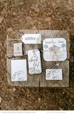 Invitation Inspiration The Enchanted Forest {Wedding Inspiration} Wedding Stationery Inspiration, Wedding Stationary, Wedding Invitations, Wedding Inspiration, Wedding Ideas, Camp Wedding, Wedding Paper, Wedding Events, Boho Wedding