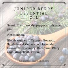 Juniper Berry Essential Oil Profile