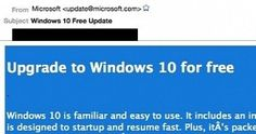 "The spammers have taken various steps to make emails look as if is sent by Microsoft, including spoofed ""from"" address of 'update@microsoft.com'—though IP address is linked to machine in Thailand."