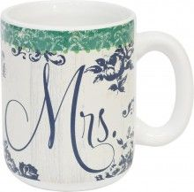 Mug-Mrs (Wedding Collection) (Pack Of 2)  (Package of 2)