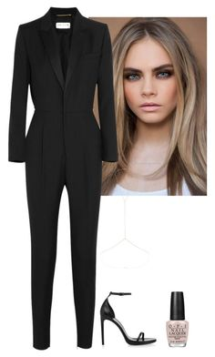 Untitled #63 by jdjmacpherson on Polyvore featuring polyvore, fashion, style, Yves Saint Laurent, Topshop, OPI and clothing