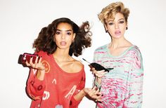The model on the left has the ill press and curl. Werk! | Lookbooks Nasty Gal Collection at Nasty Gal