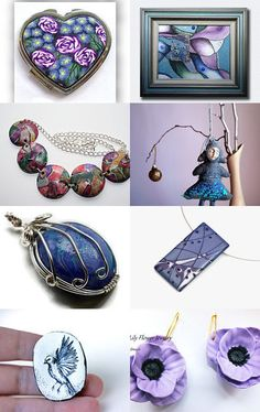 --Pinned with TreasuryPin.com Assessment, Polymer Clay, Pendant Necklace, Store, Etsy, Accessories, Image, Jewelry, Tent