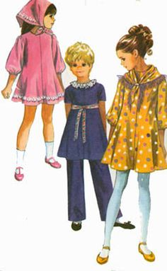 1970s Simplicity 9188 Girls MOD MINI Dress with by sandritocat, $7.00