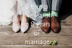 8 things I've learnt in 8 years of marriage