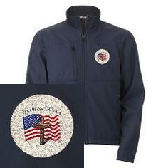 God Bless American With US Flag and Rugged Cross Men's Performance Jacket    •   This design is available on t-shirts, hats, mugs, buttons, key chains and much more   •   Please check out our others designs at: www.cafepress.com/TsForJesus