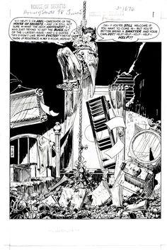 House of Secrets 98 pg1 by Michael Kaluta