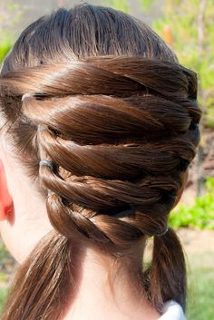 This was another hairstyle that we got SEVERAL requests for a video on.   It's our Basket Weaving hairstyle from last week and it's very e...