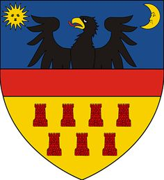 Historical coat of arms of Transylvania - Wikipedia Sweden Travel, Poland Travel, Vlad The Impaler, Carpathian Mountains, Family Crest, Crests, Photo Essay, My Heritage, Coat Of Arms