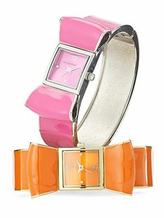 These Isaac Mizrahi watches from QVC are too cute. #GoodHousekeeping #GiftIdeas