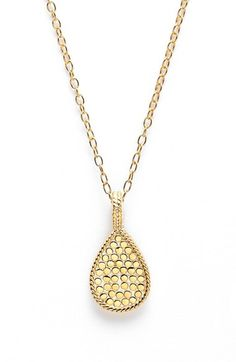 Anna Beck 'Gili' Teardrop Pendant Necklace available at #Nordstrom