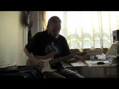 ▶ Elmo Karjalainen playing to Gary Moore style Backing Track - YouTube