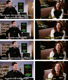 """She gives the best pep talks. 