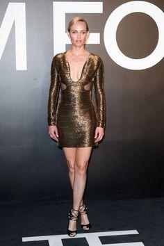 Amber Valletta in Tom Ford   - HarpersBAZAAR.com