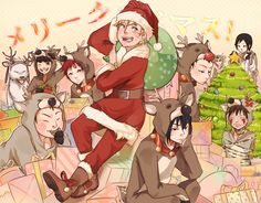 naruto merry christmas - Naruto Christmas