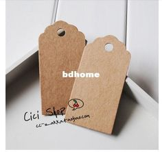 SS006 Antique Kraft Paper Tags with Lovely Swirl Arts And Crafts | Buy Wholesale On Line Direct from China