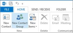 Importing Contacts from Excel