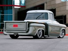 55 chevy pick up truck