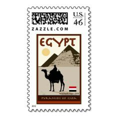 egypt postal stamps | Egypt Postage Stamps from Zazzle.com
