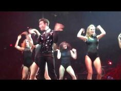 GLEE LIVE! Single Ladies Dance -Chicago