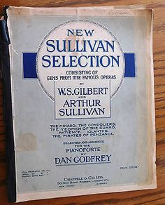 New #sullivan selection #savoy operas piano solo vintage 1920s #sheet music gilbe,  View more on the LINK: http://www.zeppy.io/product/gb/2/131669671784/