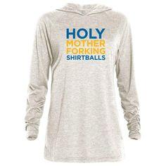 9367ac3e0 The Good Place Holy Mother Forking Shirtballs Tri-blend Raglan Hoodie