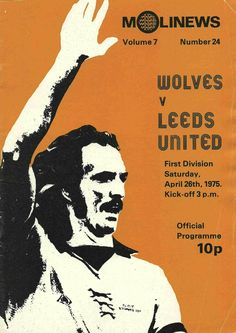 Ashford Town, British Football, Sir Alex Ferguson, Football Program, Leeds United, Vintage Football, Division, Programming, Wolves