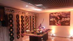 Painel personalizado - Rúbia 15 anos - tema da festa Hollywood - Trabalho desenvolvido para a i9 Decoração