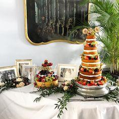 Amazing cake and cheese table at @parknasillaresort #cakeflowers #caketable #weddingcake #weddingdetails #irishflorist #irishwedding #kerrywedding #bloomsdayflowers